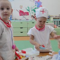 Совместные игры педагога с детьми
